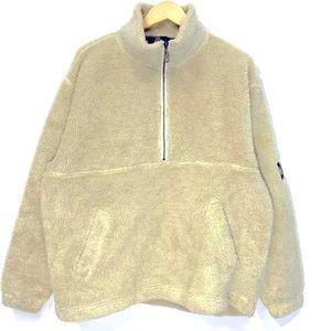 Timberland Fleece Sweater Half Zip teddy pullover